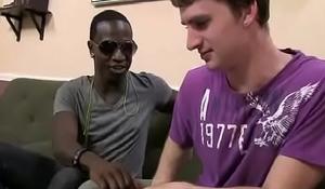 Blacks on Boys - Gay Bareback Nasty Fuck Video 03