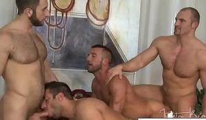 Horny Studs GangBang Orgy
