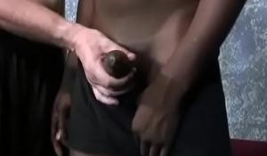 Gay Interracial Dick Rubbing And BBC Sucking Video 16