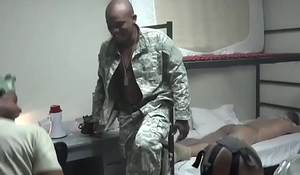 Military gay sex black The Hazing, The Showering and The Fucking
