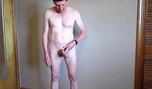 strip jackoff eat my own cum
