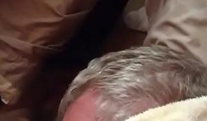 Cum Shot on Grandpa