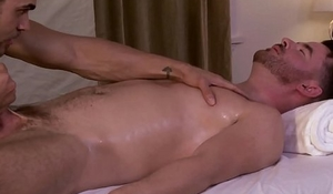 Brendan Patrick fucked by masseur Brock Avery