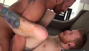 Hot big dick tattooed hunks ass fucking like never before