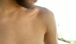 Horse hung Argentinean, Gabe Alonso, has never been naked in front of a camera