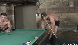 Tight homosexual anal is drilled