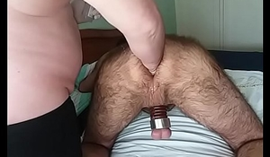 Hard fist ass punching session 1