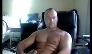 Straight USA Daddy Cums on Cam [File - HC001]
