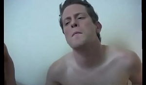 Tall skinny naked boy gay Jeremy was fully turned on getting banged