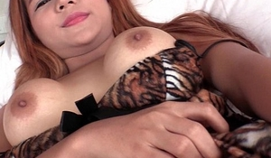 Tiger Redhead Babydoll Dildoing