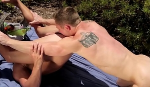 Rimmed ripped ahtlete enjoys it rough