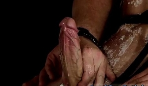 Free bondage leather gallery and movies with young male gay Double