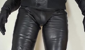 soft nappa leather pants