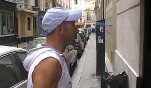 The pornstar MATHIEU PARIS fuck me on the sling