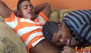 Two best friends Manny and Ramiro fucking hard till jizz