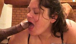 Young Big Tit SSBBW Wife BBC Shared
