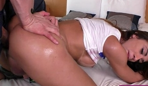 Big boobs shemale anal fucked bareback