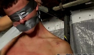 Emo gay porn vid bondage and sexy bondage man New Boy Brodie Wanked