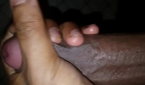 Indian twink jerks off