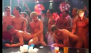 Black guys hot group masturbation gay The Dirty Disco party is