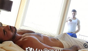 ManRoyale - Peeping Stud Gets Fucked by a Daddy
