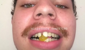 Vore Fetish - Devon Eats Gummy Bears Video 2