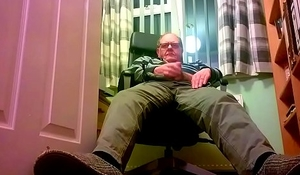 Old man and young sub boy throat and anal