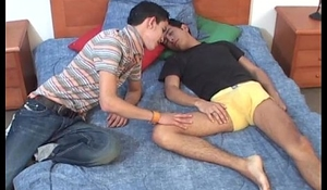 Latin Twinks Leonardo and Alfonso Fucking