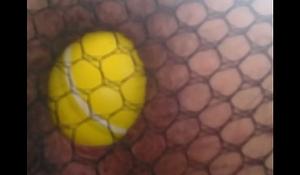femboy anal balls insertion