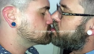 Adam with an increment of Richard Kissing Video 4