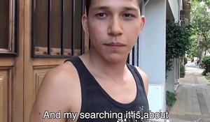 Young Straight Latino With Flowers For His Fixture Fucks Blissful Filmmaker For Confident POV