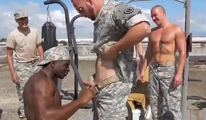 Male jemmy naked with an increment be required of partition off be required of gay military men in their grungy underwear