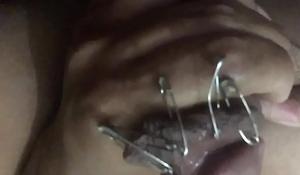Rusty Pin in Cock