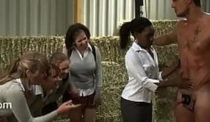Milking outdoor