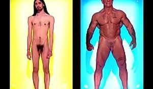 Naked Attraction Careless Highlights 2.5, Hairy Daddies &_ Roman Thighs