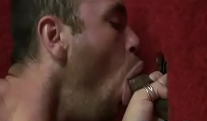 Interracial Gay Gloryhole Dick Sucking Video 20