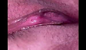 Fretting my wet pussy