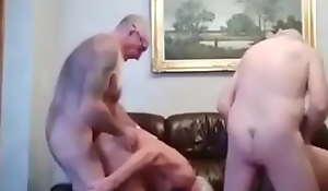 4 grandpas fuck