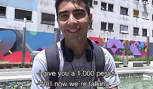 Virgin Amateur Twink Latino With Braces Paid Cash To Intrigue b passion POV