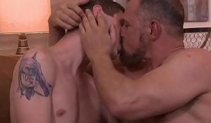 Older Max Sargent seduces stud Sam Truitt